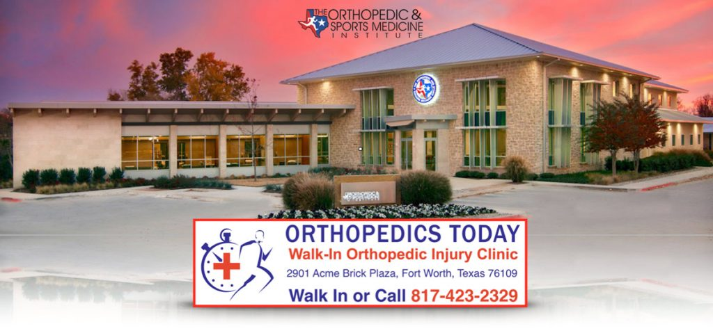 Orthopedics Today is a walk-in injury clinic